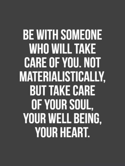 Quotes About Caring For Someone Special