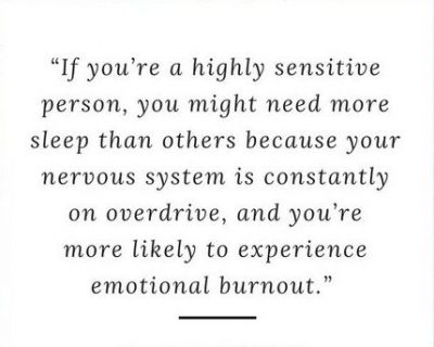 Quotes About Highly Sensitive Person