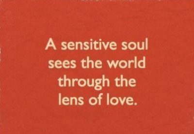 Short Quotes On Being Sensitive