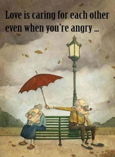 To Care Even When You Are Angry