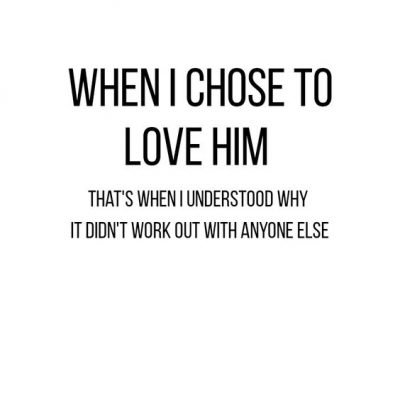 A Short Love Quote For Him
