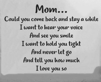 Best Memorial Quotes For Mom