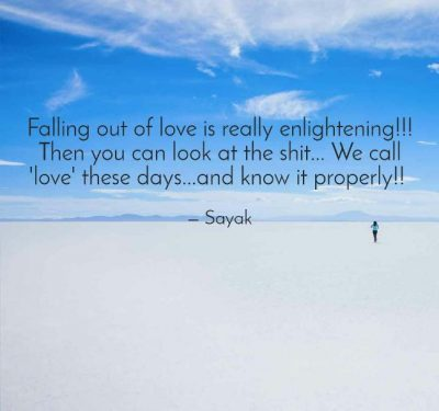 Falling Out Of Love Pics