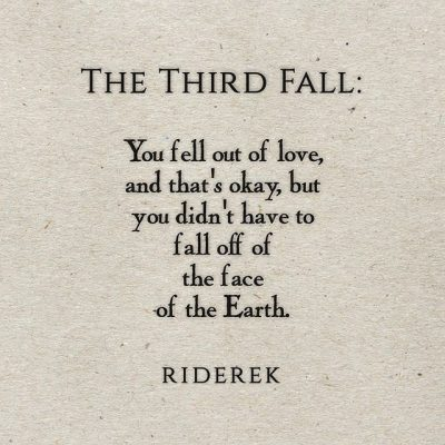 Falling Out Of Love Quotes From Friends