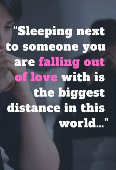 Falling Out Of Love With Husband Quotes