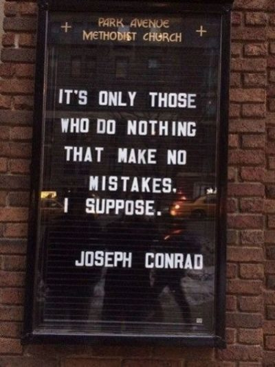 Famous Mistakes Quotes