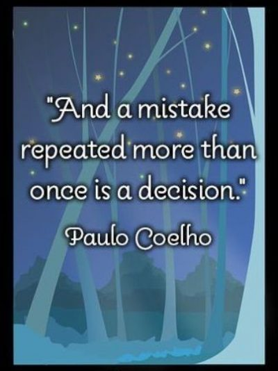 Famous Quotes About Repeating Mistakes