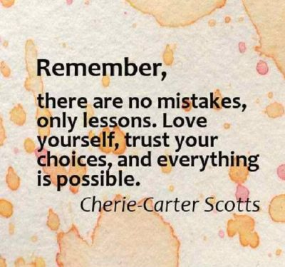 Famous Quotes On Mistakes And Choices