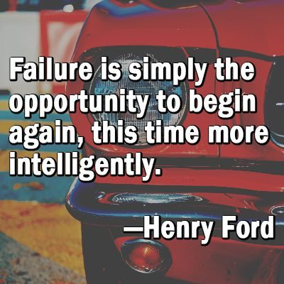 Famous Quotes On Mistakes And Failures