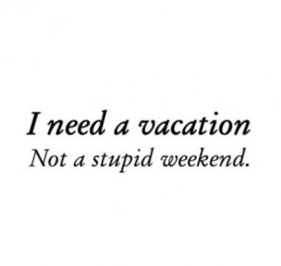 Going On A Vacation Quotes