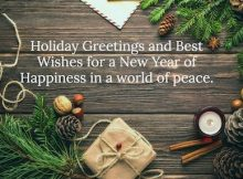 Greetings For Holiday Quotes