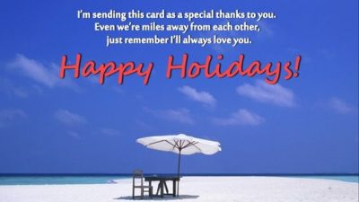 Holiday Greeting Card Quotes