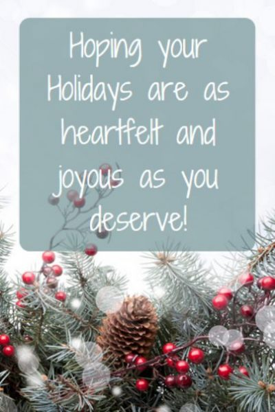 Holiday Greetings For Co-workers