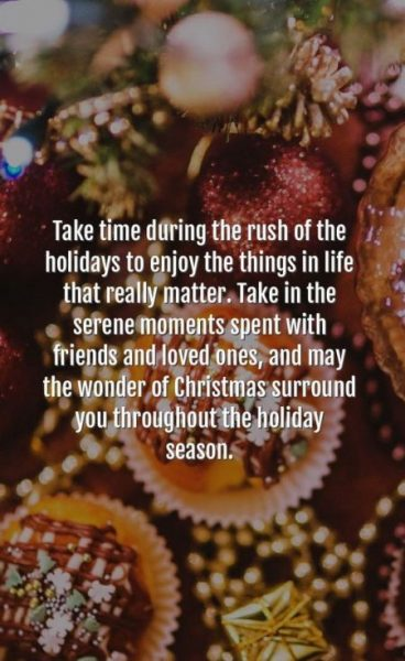 Holiday Greetings Quote for Friends