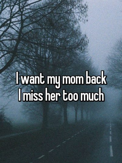I Miss You Message For Mom