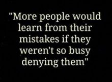 Learning From Mistake Quotes