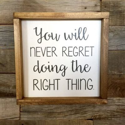 No Regret Quotes