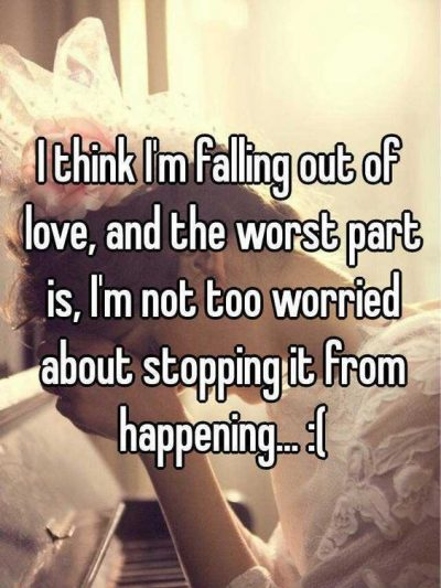 Quotes For Falling Out Of Love Quotes