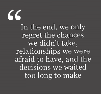 Regret Quotes Relationship