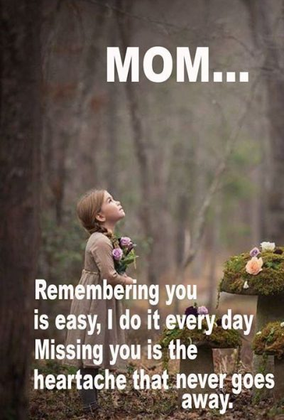 Remembering A Deceased Mother Quotes