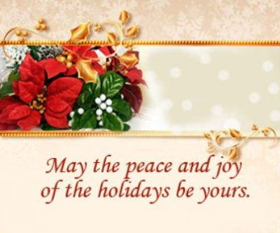 Short Holiday Greetings Images