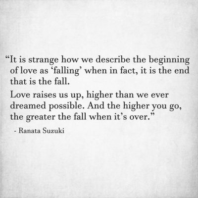 Slowly Falling Out Of Love Quotes