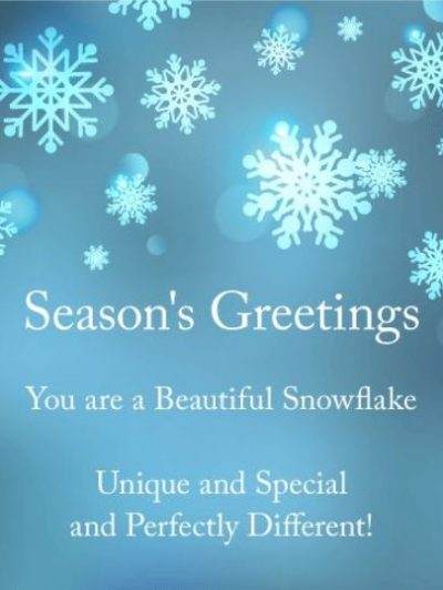 Unique Greetings For Holiday