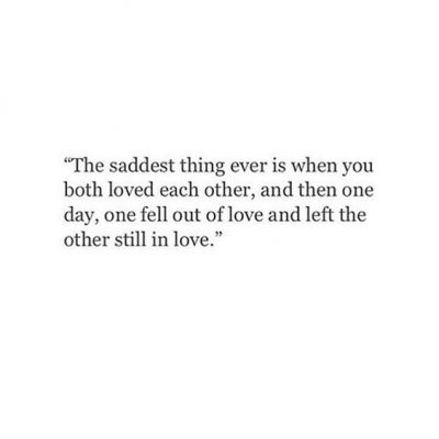 When A Woman Falls Out Of Love Quotes