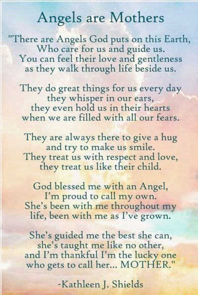 Mom Remembrance Poems