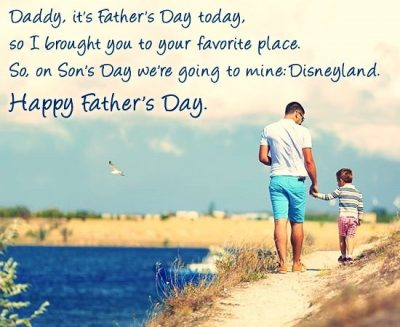 Cute Happy Father's Day from Son