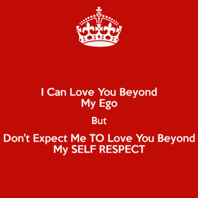 I Love My Respect Pic