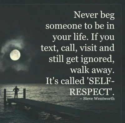 Quotes On Self Respect In Relationship
