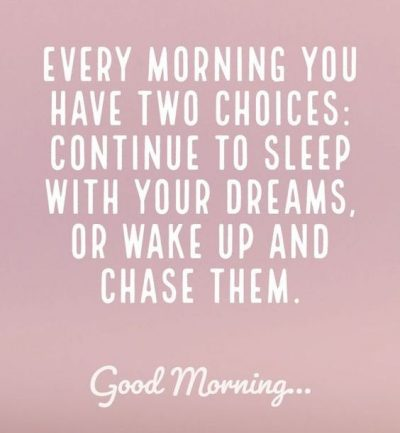 Dream Quotes good Morning