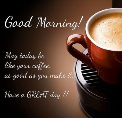 Good Morning Coffee Facebook Quote