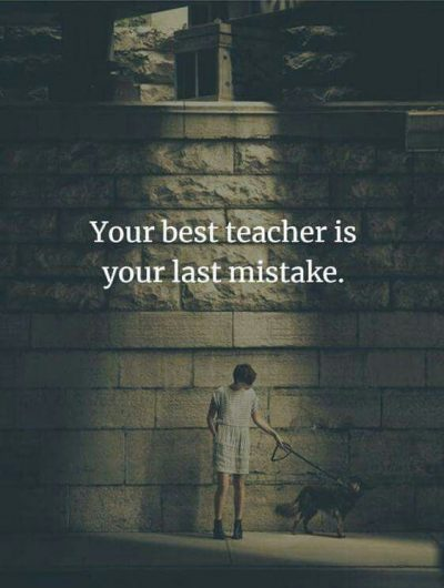 I Made a Mistake Quote