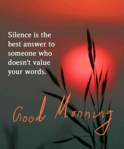 Morning Quote With Sun