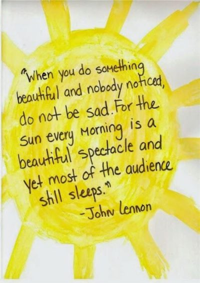 Morning Sun Quotes