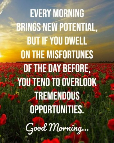 Motivating Good Morning Pictures