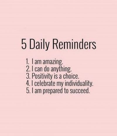 Positive Reminders