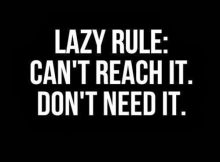 2020 Lazy People Quotes