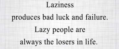 Failure Quotes For Lazy People