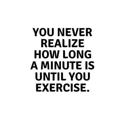 Funny Sayings On Exercise