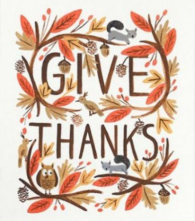 Giving Thanks Images