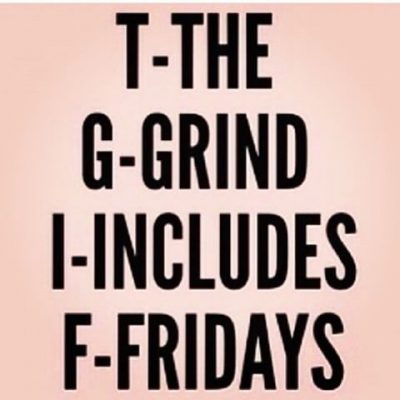 Grind Don't Stop Pic