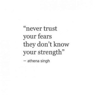 Overcoming Fear Images