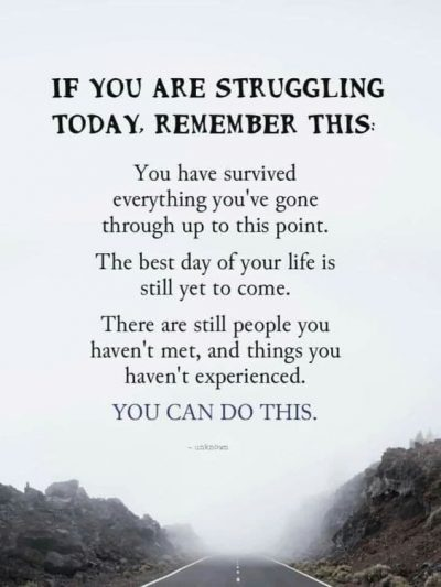 Overcoming Struggles In Life Quotes