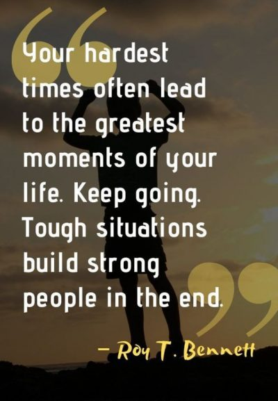 Quotations For Tough Times