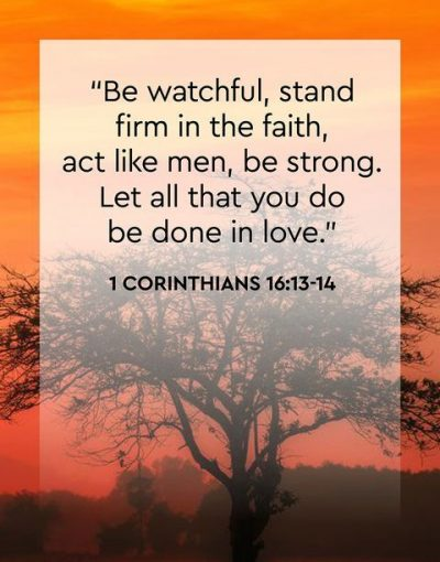 Quote From Bible To Support Men