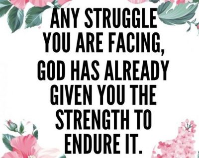 Quotes About Struggles In Life With God