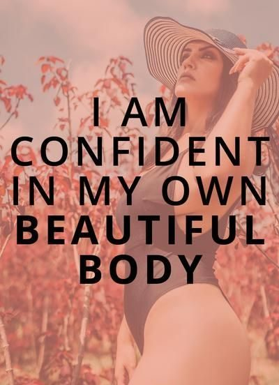 Affirmations For Body Confidence